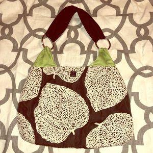 1154 Lill Studio shoulder bag black with green
